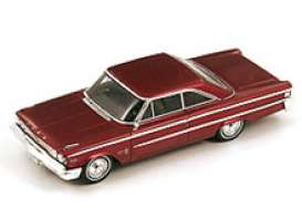 Ford  - Galaxie 500 1963 red - 1:43 - Spark - s2957 - spas2957 | The Diecast Company