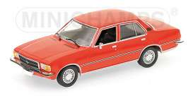 Opel  - 1975 red - 1:43 - Minichamps - 400044004 - mc400044004 | The Diecast Company