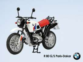 BMW  - white - 1:24 - Magazine Models - BMWR80GS - MagBMWR80GS | The Diecast Company