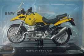 BMW  - yellow - 1:24 - Magazine Models - BMWR1150GS - MagBMWR1150GS | The Diecast Company