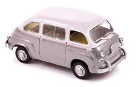 Fiat  - 1956 grey/white - 1:43 - Norev - 770057 - nor770057 | The Diecast Company