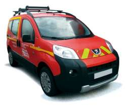Peugeot  - 2009 red - 1:43 - Norev - nor479838 | The Diecast Company