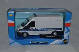 Ford  - white/blue - 1:43 - Cararama - 220ND-1 - cara220ND-1 | The Diecast Company