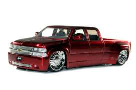 Chevrolet  - 1999 red - 1:24 - Jada Toys - 90145r - jada90145r | The Diecast Company