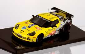Corvette Chevrolet - 2010 yellow/ - 1:43 - IXO Models - lmm199 - ixlmm199 | The Diecast Company