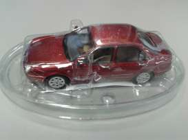 Lancia  - red metallic - 1:43 - Magazine Models - BPlanlybra - magBPlanlybra | The Diecast Company