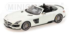 Brabus Mercedes Benz - 2012 pearl white - 1:18 - Minichamps - 107032130 - mc107032130 | The Diecast Company