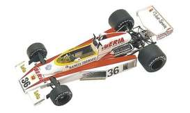 Minichamps - McLaren Ford - mc530770036 : 1977 McLaren Ford M23 #36 E. De Villota Spanish GP, red/white