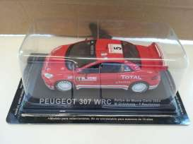 Peugeot  - 2004 red - 1:43 - Magazine Models - RA307 - MagRA307 | The Diecast Company