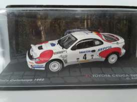 Toyota  - Celica 1992 white/red - 1:43 - Magazine Models - RACelica-w - MagRACelica-w | The Diecast Company