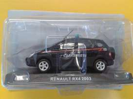 Renault  - Scenic *Carabinieri* 2003 blue - 1:43 - Magazine Models - 057 - magcara057 | The Diecast Company