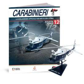 Agusta  - BELL  blue/white - 1:72 - Magazine Models - magcara012 | The Diecast Company
