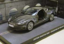 Aston Martin  - black - 1:43 - Magazine Models - JBDBSbashed - magJBDBSbashed | The Diecast Company