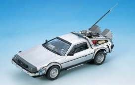 Delorean  - 1:24 - Aoshima - 106191 - abk106191 | The Diecast Company