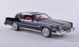 Cadillac  - 1979 black - 1:43 - NEO Scale Models - 43502 - neo43502 | The Diecast Company