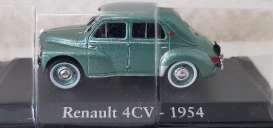 Renault  - 1954 green metallic - 1:43 - Magazine Models - RE4cv1954 - magRE4cv1954 | The Diecast Company