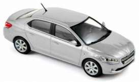 Peugeot  - 2013 silver - 1:43 - Norev - 473102 - nor473102 | The Diecast Company