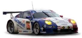 Porsche  - 2013 blue/white/red - 1:43 - Norev - nor750041 | The Diecast Company