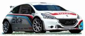 Peugeot  - 2013 blue/white/red - 1:43 - Norev - 472820 - nor472820 | The Diecast Company