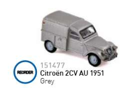 Citroen  - 1951 grey - 1:87 - Norev - 151477 - nor151477 | The Diecast Company