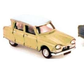 Citroen  - 1964 yellow - 1:87 - Norev - 153517y - nor153517y | The Diecast Company