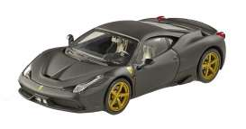 Ferrari  - 2013 matt black - 1:43 - Hotwheels Elite - mvBLY47 - hwmvBLY47 | The Diecast Company