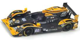 Oreca Nissan - 2013 black/yellow - 1:43 - Spark - s3758 - spas3758 | The Diecast Company