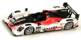 Oreca Nissan - 2013 black/white/red - 1:43 - Spark - s3765 - spas3765 | The Diecast Company