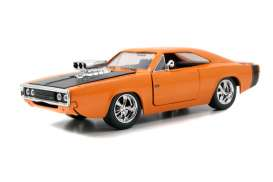 Dodge  - 1970 orange - 1:24 - Jada Toys - 96953o - jada96953o | The Diecast Company