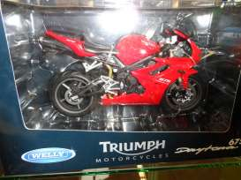 Triumph  - 2009 red - 1:10 - Welly - 62801 - welly62801 | The Diecast Company