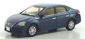 Nissan  - Sylphy steel blue - 1:43 - J Collection - jc79002BL | The Diecast Company