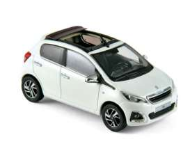 Peugeot  - 2014 white/red - 1:43 - Norev - 470181 - nor470181 | The Diecast Company