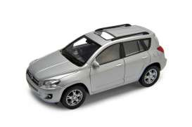 Toyota  - RAV4 silver - 1:34 - Welly - 43640s - welly43640s | The Diecast Company