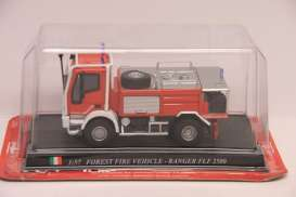 Iveco  - red - 1:57 - Magazine Models - fireRANGER - magfireRANGER | The Diecast Company