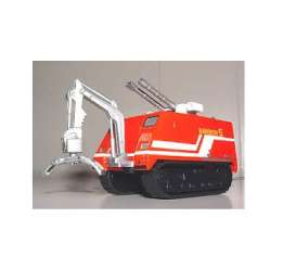 Fire-engine  - 1990 red/white - 1:43 - Magazine Models - fireRainbow - magfireRainbow | The Diecast Company