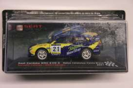 Seat  - 2001 blue - 1:43 - Magazine Models - RAcordo01 - MagRAcordo01 | The Diecast Company