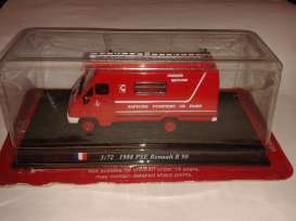 Fire-engine  - 1988 red - 1:72 - Magazine Models - firePSE - magfirePSE | The Diecast Company