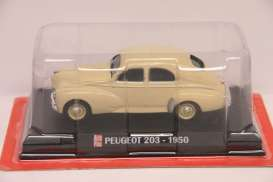 Peugeot  - 203 1950 creme - 1:43 - Magazine Models - AP203cr - magAP203cr | The Diecast Company