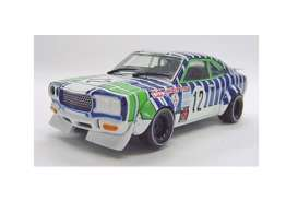 Mazda  - Savanna RX-3 #12 1971 white/blue/green - 1:43 - Kyosho - 3191C - kyo3191C | The Diecast Company