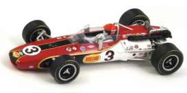 Eagle  - 1968 red/white - 1:43 - Spark - 43in68 - spa43in68 | The Diecast Company