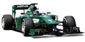 Caterham  - 2014 green - 1:43 - Spark - s3078 - spas3078 | The Diecast Company
