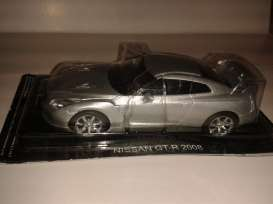 Nissan  - 2008 grey - 1:43 - Magazine Models - SCniGTR - magSCniGTR | The Diecast Company