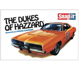MPC - Dodge  - mpc817 : 1969 Dodge Charger Dukes of Hazzard Snap kit, plastic modelkit