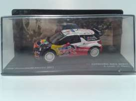 Citroen  - 2011 white/red/blue - 1:43 - Magazine Models - RADS3no1-2011 - MagRADS3no1-2011 | The Diecast Company