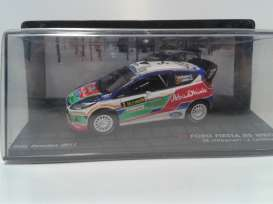 Ford  - Fiesta RS WRC #3 2011 white/red/green/blue - 1:43 - Magazine Models - RAFiestaRS - MagRAFiestaRS | The Diecast Company