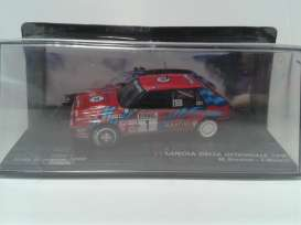 Lancia  - 1989 red/blue - 1:43 - Magazine Models - RADelta1989r - MagRADelta1989r | The Diecast Company