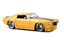 Chevrolet  - 1971 yellow - 1:24 - Jada Toys - 90532y - jada90532y | The Diecast Company