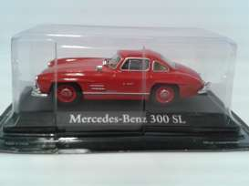 Mercedes Benz  - 1954 red - 1:43 - Magazine Models - RBA300SL - magRBA300SL | The Diecast Company