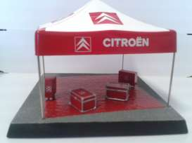 Citroen  - 2004 red - 1:43 - Magazine Models - dioloeb - magdioloeb | The Diecast Company