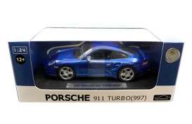 Porsche  - blue - 1:24 - Joy City - joy850103b | The Diecast Company